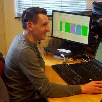 XIXO Servicedesk engineer Sander Puijk